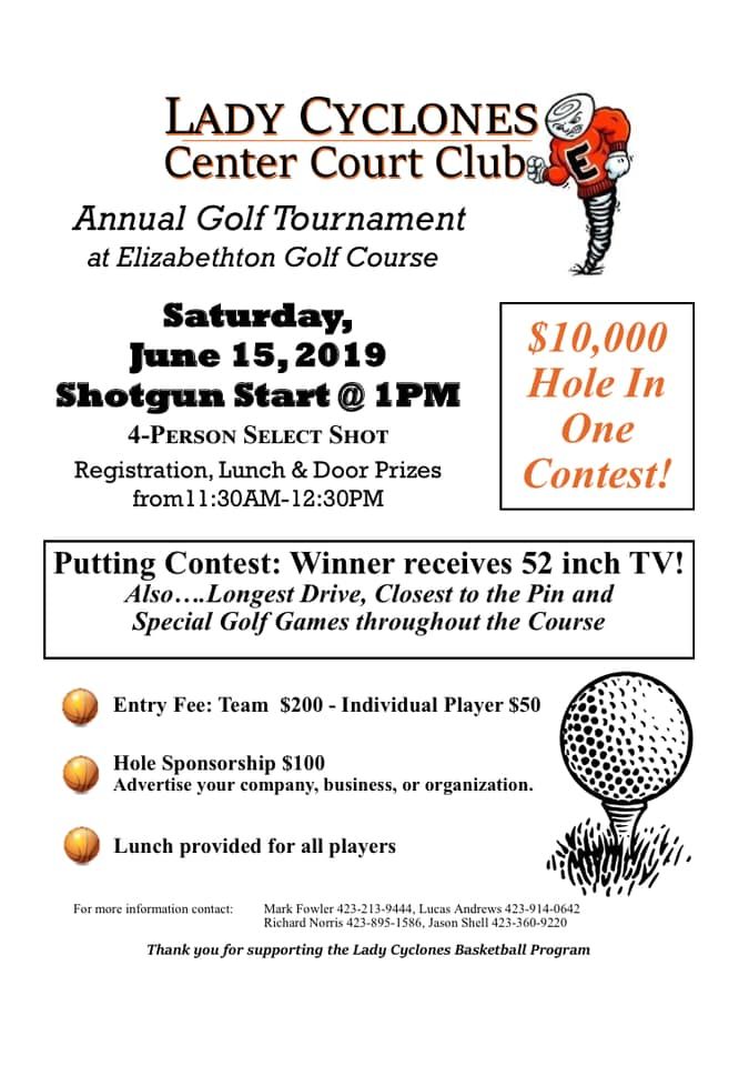 Golf Tourney Flyer